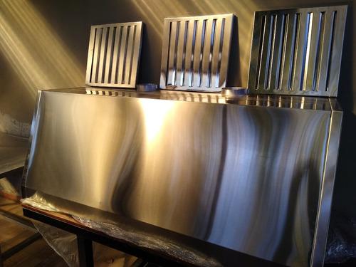 campanas extractoras industriales acero inoxidable fabrica