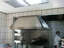 campanas para cocinas industriales en acero inoxidable