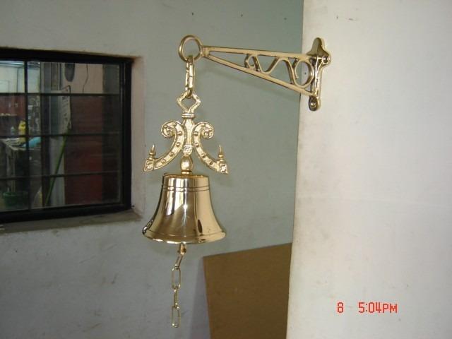 Campanas para timbre de bronce 1 en mercado libre - Timbre de casa ...