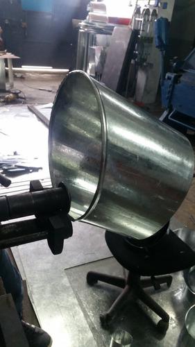 campanas y ductos metalicos