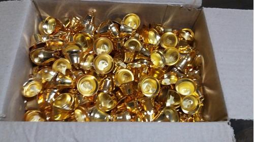 campanitas de metal 32mm caja x 600 unidades