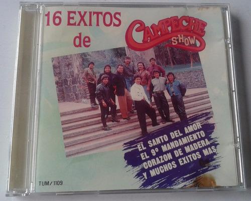 campeche show 16 exitos cd 1a ed 1991 bvf