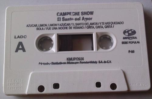campeche show el santo del amor cassette 1990 bvf
