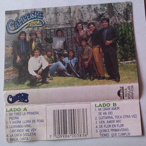 campeche show no tires la primera piedra cassette 1991 bvf