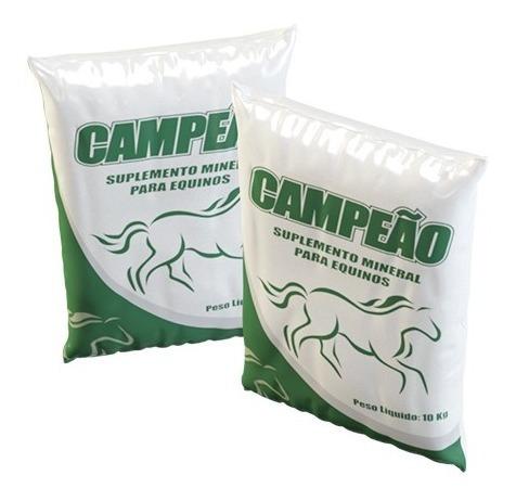 campeão - sal mineral para equinos