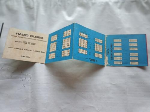 campeonato carioca - 1* turno 1975 - loteria penha