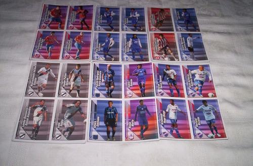 campeonato clausura 2008.planchas de figuritas..