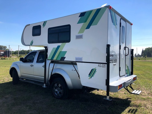 camper ag220 p/pick up doble cabina 4pers. silfred motorhome