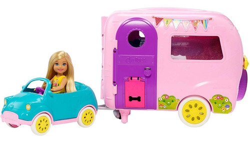 camper de la barbie club chelsea camper original