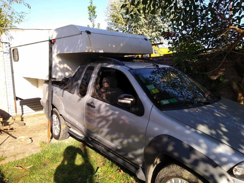camper ideal p/ chevrolet montana - fiat strada - vw saveiro