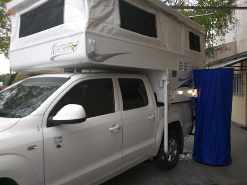 camper motorhome casilla rodante northstar (pop-up)