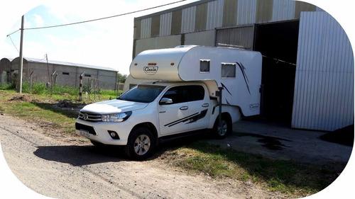 camper para cabina simple