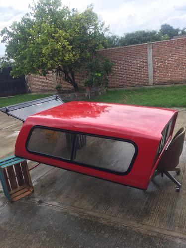 camper para ford ranger rojo