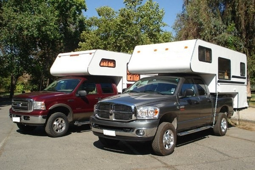 camper para todas las pickup o doble cabina