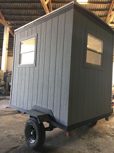 camper , remolque ,caseta vigilancia, remolque oficina movil