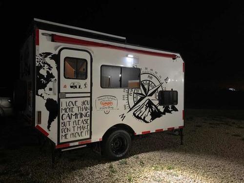 camper trailer casa rodante off road poco uso para disf