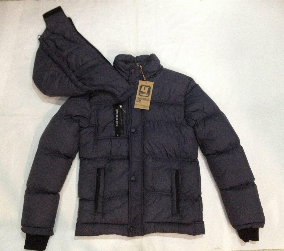 Campera de abrigo gris