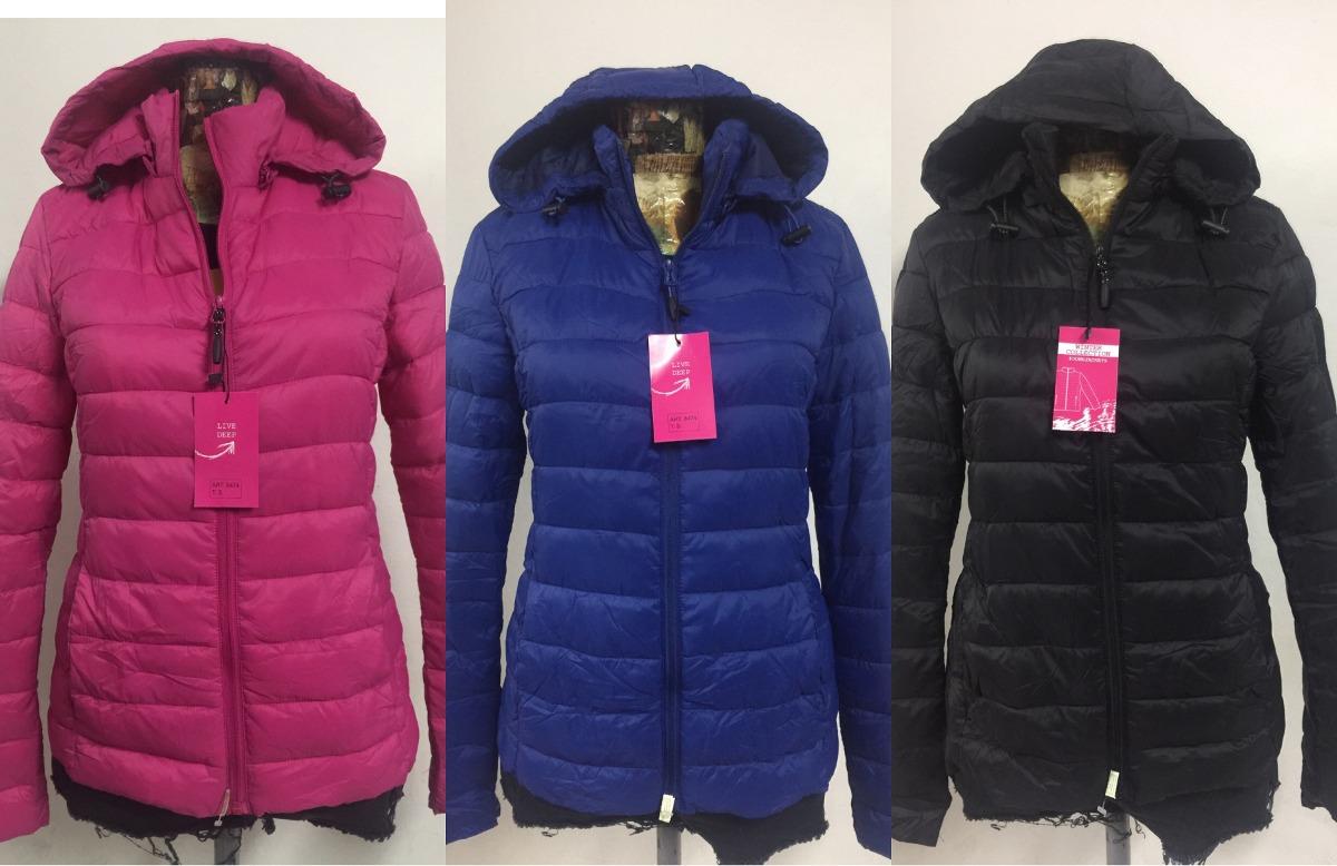 7aedff51cd9 campera abrigo mujer importada s. pluma impermeable bolsita. Cargando zoom.