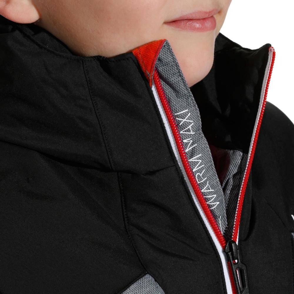 34cf0bbd263 Campera Acolchada De Ski Niño Ski-p Jkt 500 Warm Gris - $ 6.900,00 ...