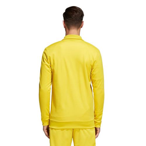 campera adidas bb track hombres- originals amarillo