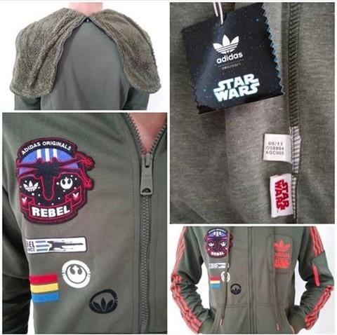 campera adidas originals star wars + envio gratis - swv