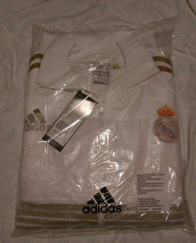 campera adidas real madrid anthem jacket 2011 2012