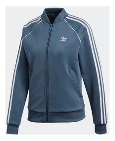 De Adidas Ropa Azul Y Campera Retro Accesorios Oscuro Mujer FK1c3JTl