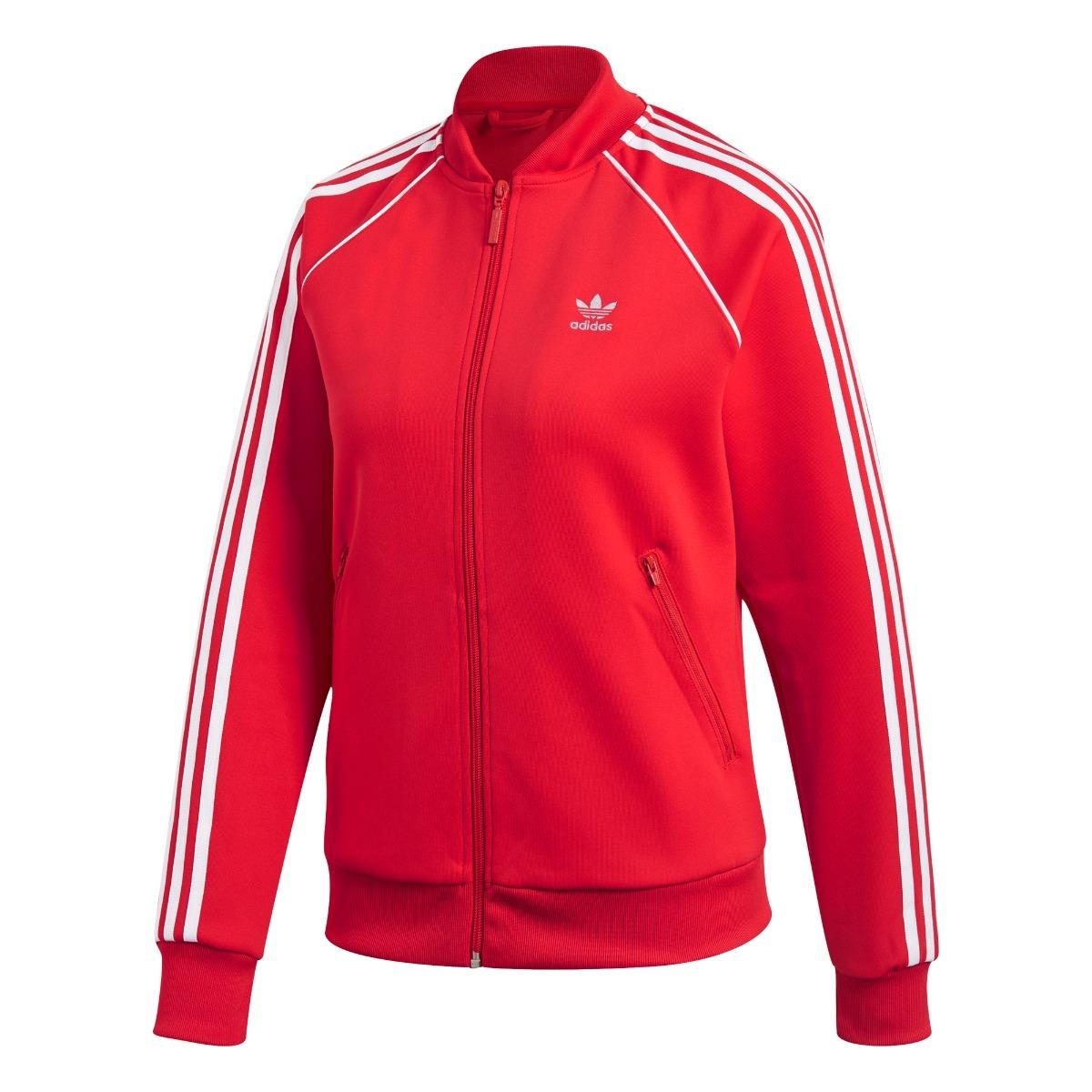 best cheap fc059 8682d campera adidas sst roja mujer- originals. Cargando zoom.
