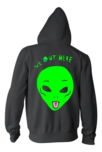 campera alien - color animal
