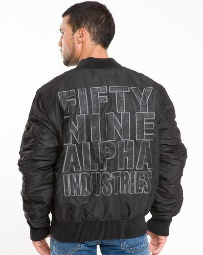 campera alpha industries ma-1 fifty nine liquidacion