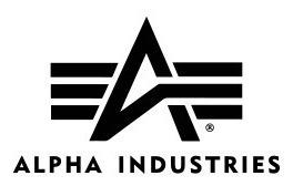 campera alpha industries n-3b softshell original negro/verde