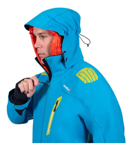 campera - ansilta orion ski iii  gore windstopper softshell