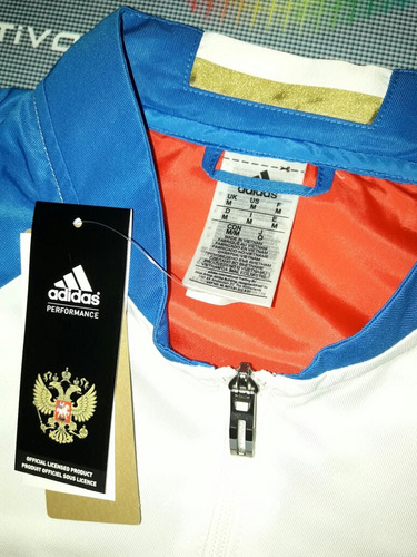campera anthem seleccion rusia 2016/17 adidas original unica