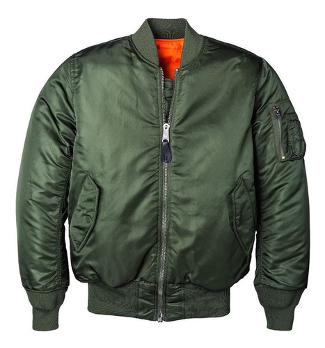 campera aviadora alpha industries ma-1 originales