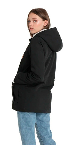 campera billabong facil iti black mujer j721qbfa