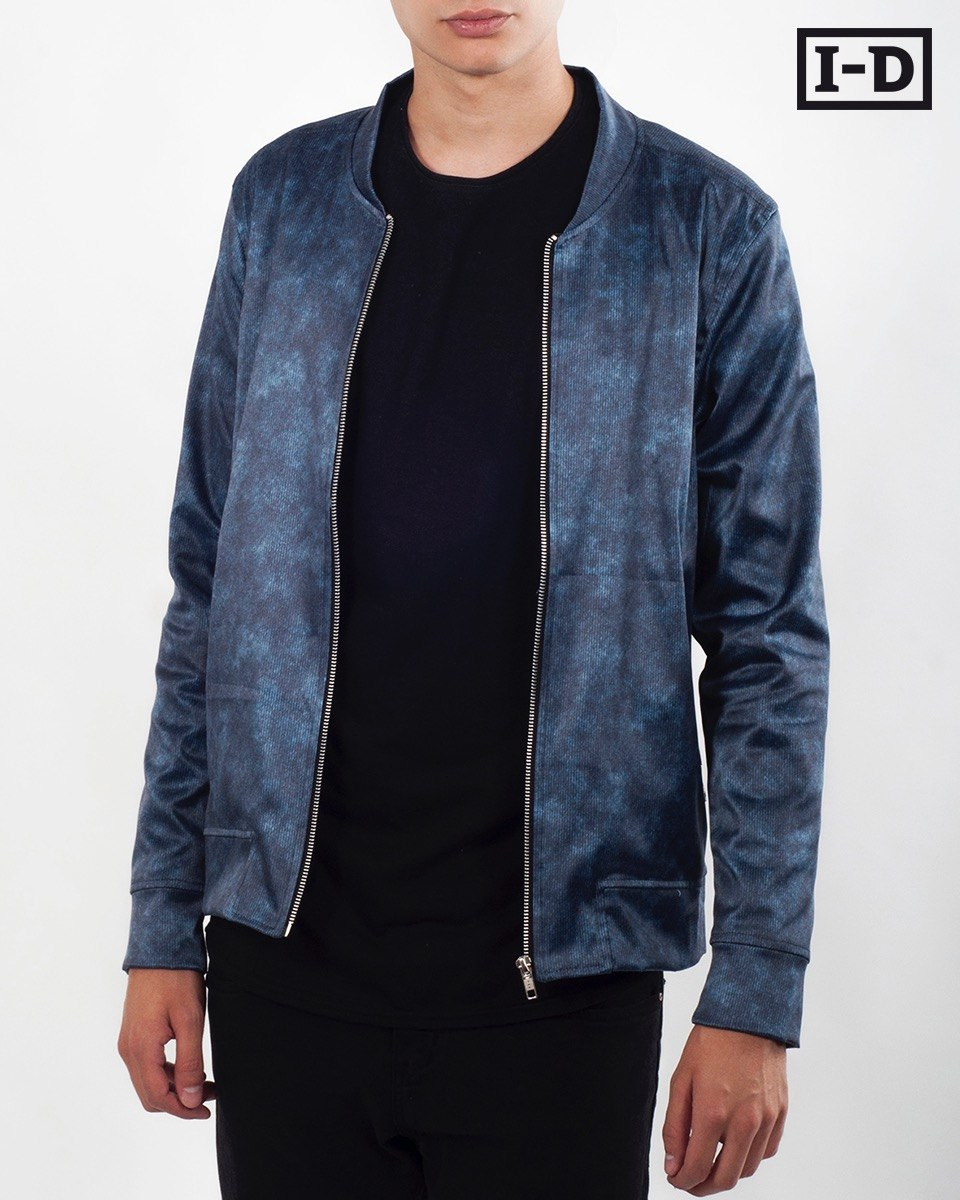 54f593ef57740 Campera Bomber Alone Hombre I - D Clothing -   1.250