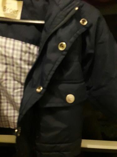 campera broer azul talle 12-18 meses.