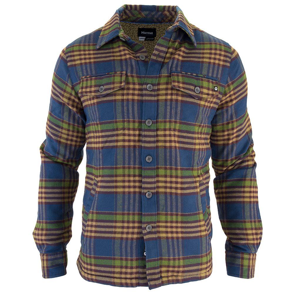 leñador Cargando hombre camisa campera zoom corderito marmot ridgefield 618gx