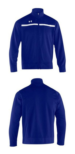 campera campus warm up azul talle m hombre under armour
