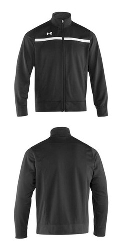 campera campus warm up negro talle s hombre under armour