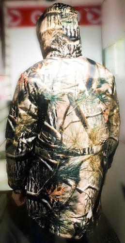 campera camuflada 3d caza