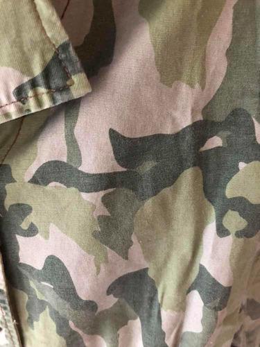 campera camuflada