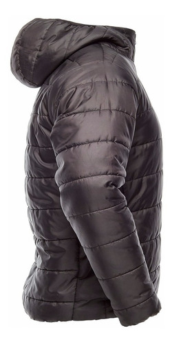 campera city fit cacique abrigada inflable - con capucha