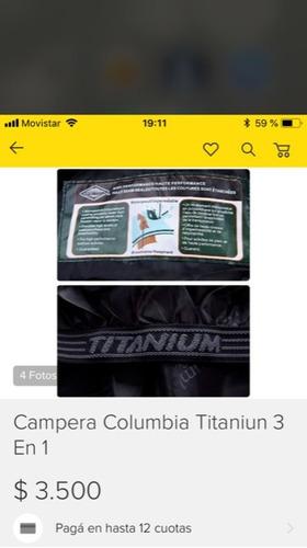 campera columbia 3 en 1