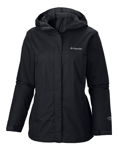 campera columbia arcadia mujer impermeable palermoº