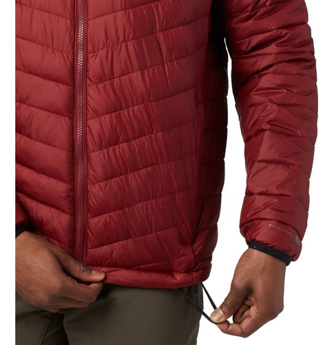 campera columbia snow country hooded jacket hombre