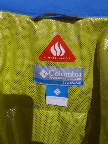 campera columbia titanium
