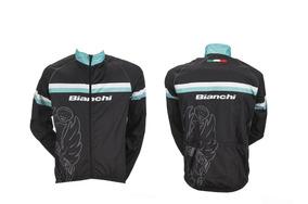 último precio de calle nuevo estilo Campera Cortaviento Ciclismo Bianchi Talla Xl