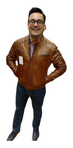 campera cuero harley cuello mao envío gratis! guns leather