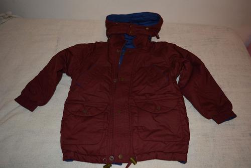 campera de abrigo niña o niño. talle 8